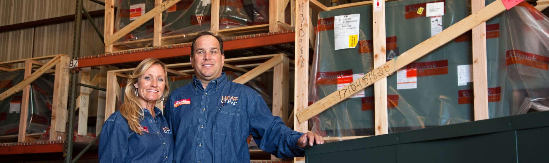 Raypak boilers| hydromatic pumps | commercial water softeners | Heat & Treat owners | Glenn Johnson | Heat & Treat Texas